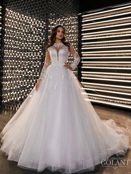 Платья - блестящее свадебное платье ТМ GOLANT, 0