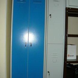 Мебель для учреждений - Металлические шкафы для сменной одежды(двухдверный), 0