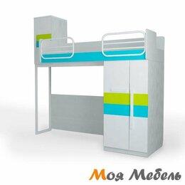 Кровати - Кровать верхняя малая  правая без лесенки Шкаф…, 0