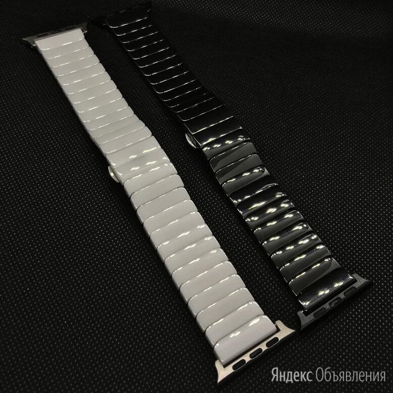 Ремешок для Apple Watch (керамика) по цене 2990₽ - Ремешки для умных часов, фото 0