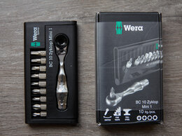 Торцевые головки и ключи - Набор WERA Kraftform Kompakt Zyklop Mini 1, 0