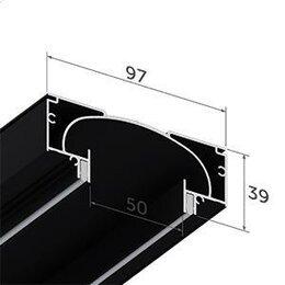 Отделочный профиль, уголки - Нишевая световая линия SLOT, 0