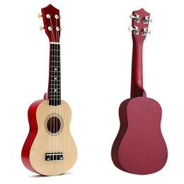 Акустические и классические гитары - Укулеле сопрано классической расцветки, 0