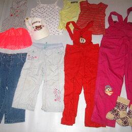 Брюки - Пакетом для девочки на 3-5 лет Вещи в отличном и хорошем состоянии., 0