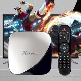 ТВ-приставки и медиаплееры - Приставка Android tv + 1000 каналов бесплатно, 0