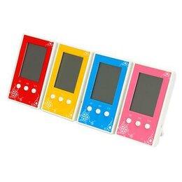 Термометры - Термометр электронный с часами, цветной, 10x6см, 0