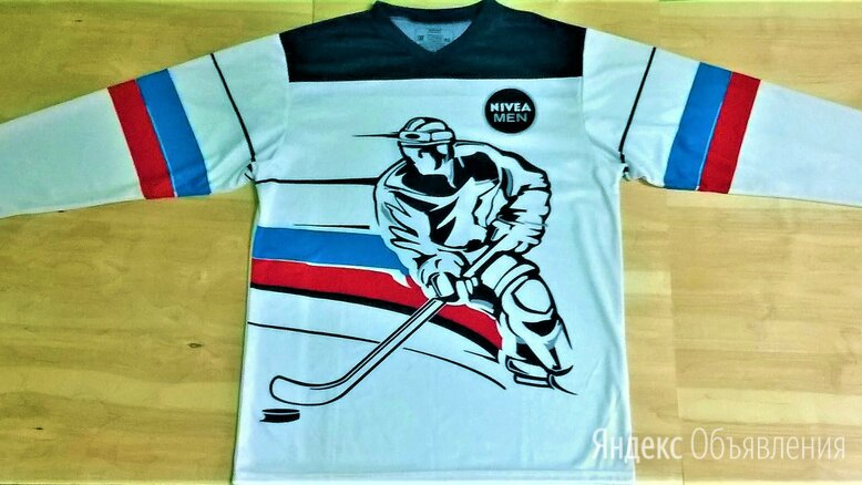 Хоккейный свитер (52-54) размер. НОВЫЙ.  по цене 500₽ - Аксессуары, фото 0