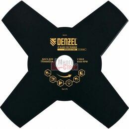 Прочее - Диск для триммера, 230 х 25,4  толщина 1,6 мм, 4 лезвия // DENZEL, 0