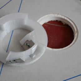Товары для электромонтажа - Фаскосниматель для подрозетников 68 мм в ГКЛ, 0
