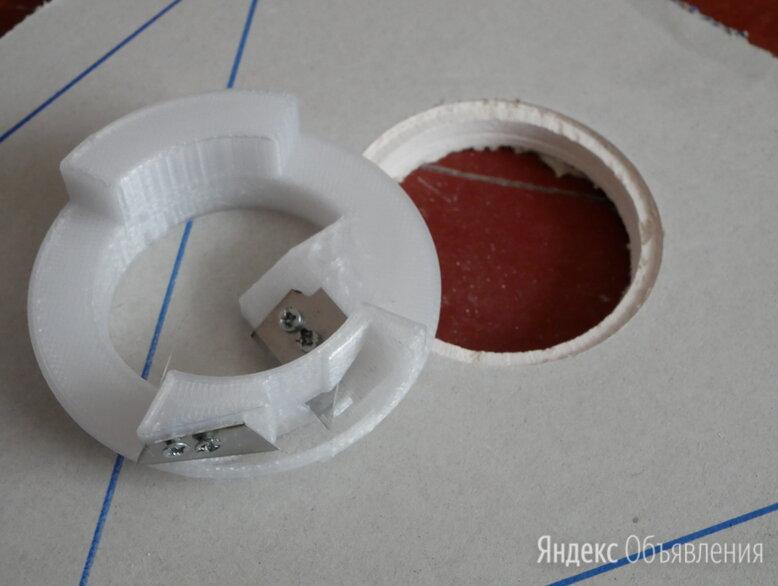 Фаскосниматель для подрозетников 68 мм в ГКЛ по цене 500₽ - Товары для электромонтажа, фото 0