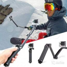 Аксессуары для экшн-камер - Монопод трансформер для экшн камер GoPro, Xiaomi, 0