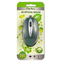 Мыши - Новая проводная Мышь PF-100-OP «NATURE», 0