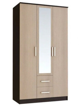 Шкафы, стенки, гарнитуры - Шкаф 3-х створчатый ЭВА ШК-019, 0