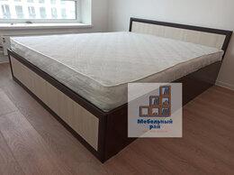 Кровати - Кровать двуспальная Модерн с матрасом , 0