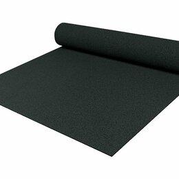 Садовые дорожки и покрытия - Резиновое покрытие 10 мм 1,5 х 6 м черное, 0