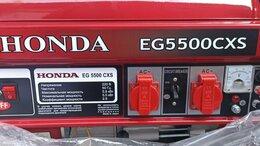 Электрогенераторы - Генератор Honda EG5500CXS, 0