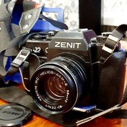 Пленочные фотоаппараты - Зенит-122 / Helios-44M-6 - Отличное рабочее состояние, в футляре, 0