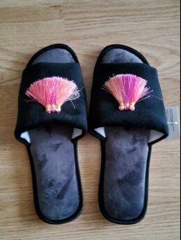Домашняя обувь - Открытые домашние тапочки, 0
