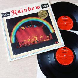 Виниловые пластинки - Rainbow - On Stage 1977 2LP Made In Germany…, 0