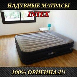 Кровати - Надувная кровать Intex Надувной матрас Intex для…, 0
