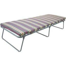 Кровати - Раскладушка ортопедическая матрас Верона до 180 кг, 0