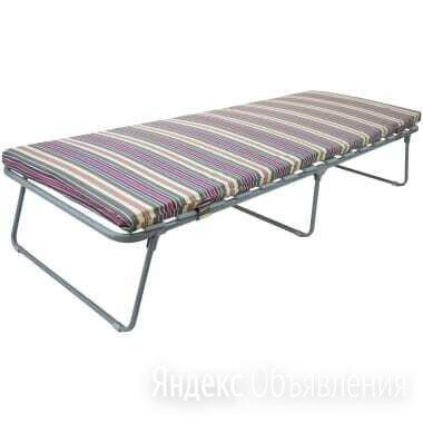 Раскладушка ортопедическая матрас Верона до 180 кг по цене 5999₽ - Кровати, фото 0