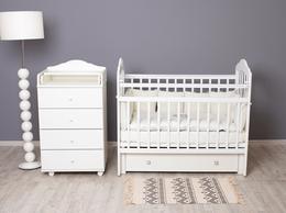Диваны и кушетки - Кровать детская с ящиком и маятником - Pali, 0