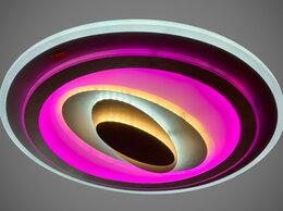Люстры и потолочные светильники - Светильник LED потолочный Q19116/500 106 W с ПДУ, 0