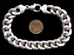 Браслеты - Серебряный браслет панцирного плетения.Вес 22,4…, 0