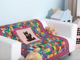 "Покрывала, подушки, одеяла - Одеяло детское на х/б ватине лоскутное ""МИШКА""…, 0"