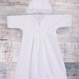Крестильная одежда - LITTLE WORLD OF ALENA  Крестильный комплект для девочки, 0