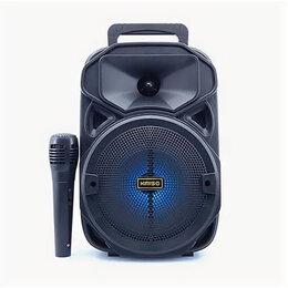 Акустические системы - Портативная Bluetooth колонка с микрофоном Kimiso KMS-3382, 0