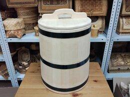 Бочки, кадки, жбаны - Кадка кедровая для солений 40 литров, 0
