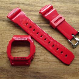 Ремешки для часов - Комплект для Casio 5600 серии. Ремень и безель, 0