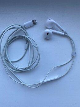 Наушники и Bluetooth-гарнитуры - наушники apple earpods с разъёмом lightning, 0