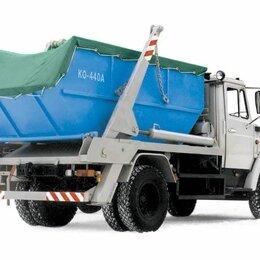 Тенты строительные - Тент - полог брезент / оксфорд для мусорных контейнеров 8 - 10 - 20м3, 0