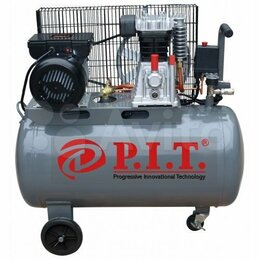 Воздушные компрессоры - Компрессор PIT PAC-2.5/100 л. 330л/мин. Ременной., 0