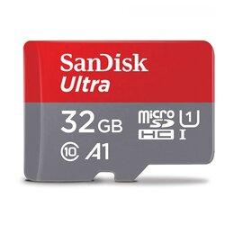 Карты памяти - Карта памяти microsdhc UHS-I sandisk 32 гб, 98мб/С, 0