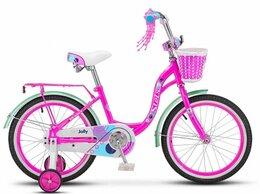 """Велосипеды - Детский велосипед STELS Jolly 18 розовый 11"""" рама, 0"""