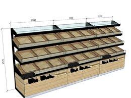 Витрины - Купить хлебная витрина стеллаж для выпечки , 0