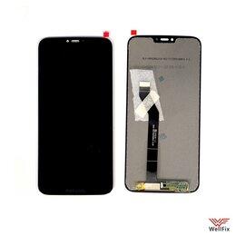 Дисплеи и тачскрины - Дисплей для Motorola Moto G7 Power в сборе черный, 0