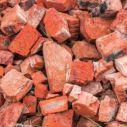 Кирпич - Бой кирпича, бой бетона, асфальтовый скол (578), 0
