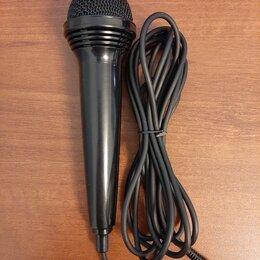 Микрофоны и усилители голоса - Микрофон, 0