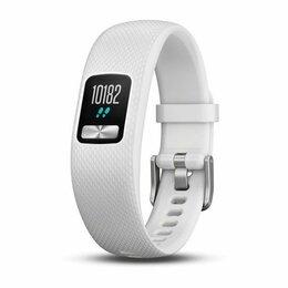Аксессуары для умных часов и браслетов - Браслет Garmin (Гармин) VIVOFIT 4 белый стандартного размера, 0
