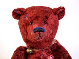 Мягкие игрушки - Мишка Teddy ручной работы Митрофан, 0