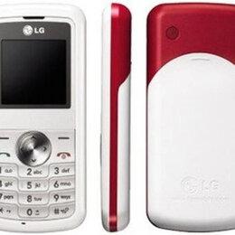 Мобильные телефоны - Телефон LG KP105 бело-красный. Б/у, 0