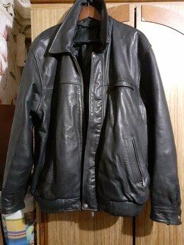 Куртки - Кожаная куртка из натуральной кожи, 0