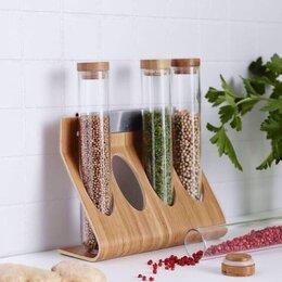 Ёмкости для хранения - Бамбуковая подставка Римфорса Икеа, 0