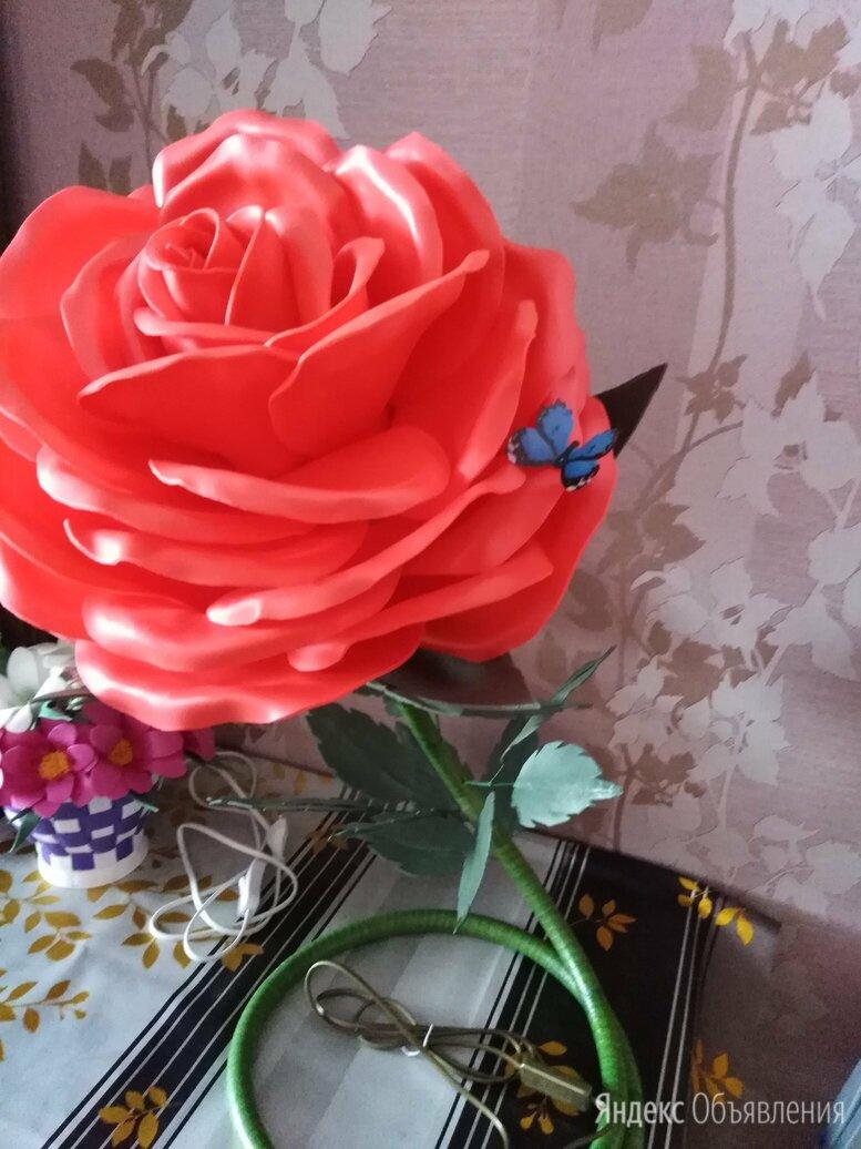 Светильник - ночник роза по цене 1500₽ - Ночники и декоративные светильники, фото 0