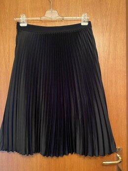 Юбки - H&M юбка плиссе черная плиссированная 46eu на…, 0